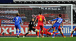 FIFA 2014 World Cup Qualifier - Wales v Croatia - Swansea - 26th March 2013 : Eduardo scores for Croatia.