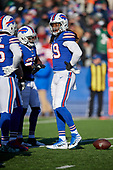 Buffalo Bills Tremaine Edmunds (49) during an NFL football game against the New York Jets, Sunday, December 9, 2018, in Orchard Park, N.Y.  (Mike Janes Photography)