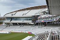 A shot from the Tavern stand showing part of the new development at Lords during Middlesex CCC vs Gloucestershire CCC, LV Insurance County Championship Group 2 Cricket at Lord's Cricket Ground on 7th May 2021