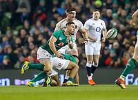 Saturday 2nd February 2019 | Ireland vs England<br /> <br /> John Cooney during the opening Guinness 6 Nations clash between Ireland and England at the Aviva Stadium, Lansdowne Road, Dublin, Ireland.  Photo by John Dickson / DICKSONDIGITAL
