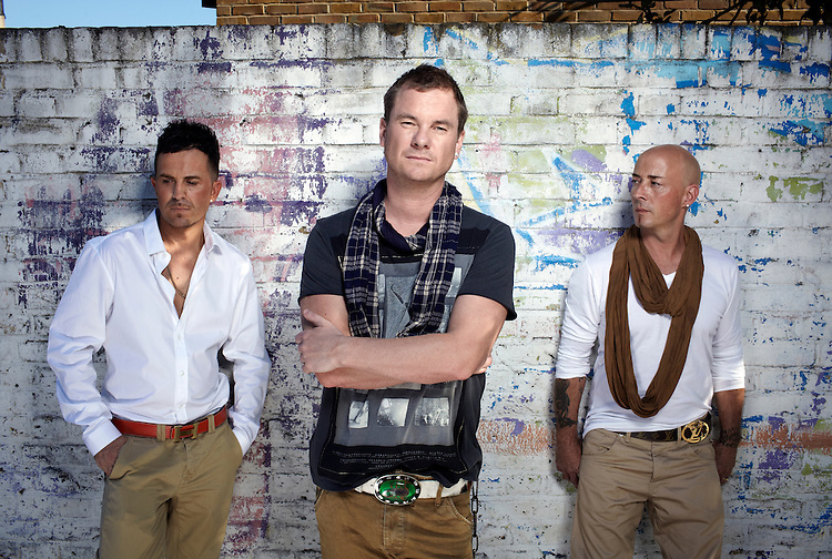 photograph by JOHN ANGERSON.East 17 are a pop band comprising Tony Mortimer, John Hendy and Terry Coldwell.