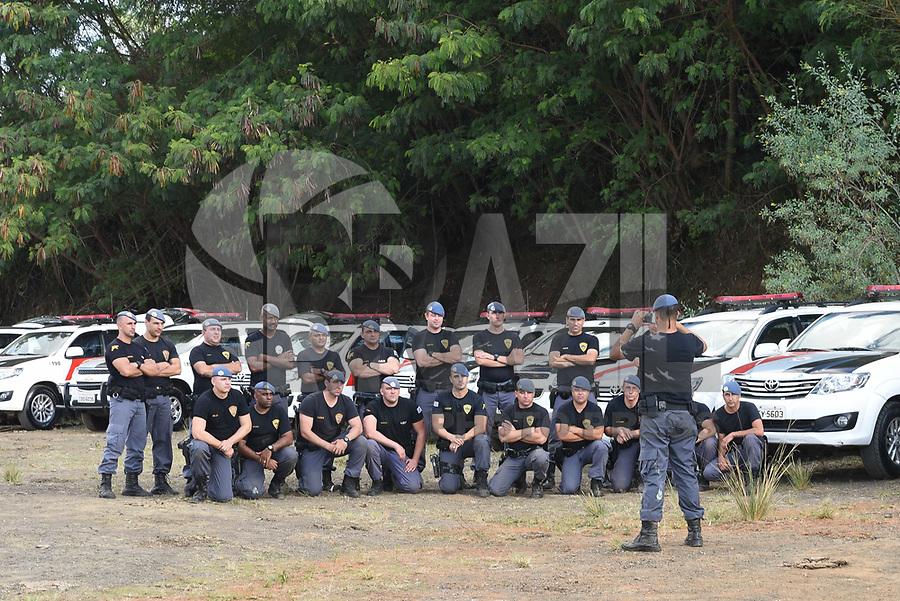 PIRACICABA,SP, 28.06.2017 - POLÍCIA MILITAR - A Polícia Militar realiza treinamento com todas as Forças Taticas da área que compreende o CPI 9, ou seja 10 BPMI, 19 BPMI, 24 BPMI, 36 BPMI, 37 BPMI e 48 BPMI, nesta quarta-feira, 28, em Piracicaba, interior de São Paulo. (Foto: Mauricio Bento/Brazil Photo Press)