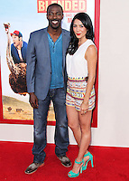 HOLLYWOOD, LOS ANGELES, CA, USA - MAY 21: David Ajala, Michelle Lukes at the Los Angeles Premiere Of Warner Bros. Pictures' 'Blended' held at the TCL Chinese Theatre on May 21, 2014 in Hollywood, Los Angeles, California, United States. (Photo by Xavier Collin/Celebrity Monitor)