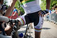 Marianne Vos (NLD/Rabobank-Liv) post-race<br /> <br /> La Flèche Wallonne 2014