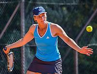 Etten-Leur, The Netherlands, August 27, 2017,  TC Etten, NVK, Mirjam Swarte (NED)<br /> Photo: Tennisimages/Henk Koster