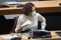 Plenarsitzung des Berliner Abgeordnetenhaus am Donnerstag den 14. Januar 2021.<br /> Im Bild: <br /> 14.1.2021, Berlin<br /> Copyright: Christian-Ditsch.de