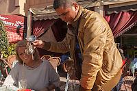 Africa, Marocco,Tiznit,tea service
