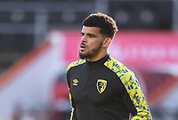 31st October 2020; Vitality Stadium, Bournemouth, Dorset, England; English Football League Championship Football, Bournemouth Athletic versus Derby County; Dominic Solanke of Bournemouth warms up