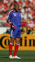 Thierry Henry of France. France and Switzerland played to a 0-0 tie in their FIFA World Cup Group G match at the Gottlieb-Daimler-Stadion, Stuttgart , Germany, on Tuesday, June 13, 2006.