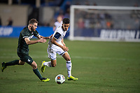 Santa Barbara, CA - Friday, December 7, 2018:  Akron men's soccer defeated Michigan State 5-1 in a semi-final match in the 2018 College Cup.  Christian Lue Young.