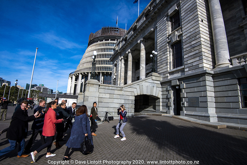at NZ Parliament Buildings in Wellington, New Zealand on Thursday, 4 July 2019. Photo: Dave Lintott / lintottphoto.co.nz