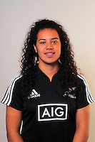 Amanda Rasch. New Zealand Black Ferns headshots at The Rugby Institute, Palmerston North, New Zealand on Thursday, 28 May 2015. Photo: Dave Lintott / lintottphoto.co.nz