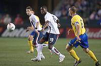 Maurice Edu,.USA vs Sweden, Home Depot Center, in Carson, Calif., Sat., January, 19, 2008.