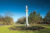 The Unicorn Balgrayhill Monument, Springburn Park, Glasgow