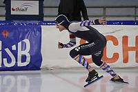 SCHAATSEN: HEERENVEEN, 21-12-2019, IJsstadion Thialf, KNSB Topsporttrainingswedstrijd, Aron Romijn, ©foto Martin de Jong