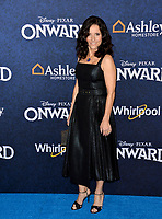 "LOS ANGELES, CA: 18, 2020: Julia Louis-Dreyfus at the world premiere of ""Onward"" at the El Capitan Theatre.<br /> Picture: Paul Smith/Featureflash"