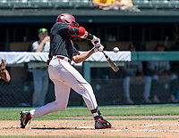STANFORD, CA - JUNE 4: Christian Robinson during a game between North Dakota State and Stanford Baseball at Sunken Diamond on June 4, 2021 in Stanford, California.