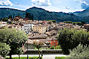 """SAGRA DEL """"PESCE E PATATE"""" 2011, BARGA, ITALY<br /> <br /> GENERAL VIEW OF THE TOWN OF BARGA."""