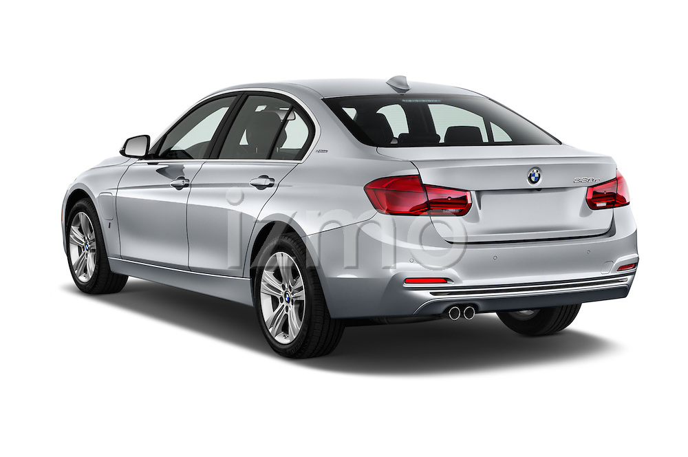 Car pictures of rear three quarter view of 2017 BMW 3-Series-Plug-In-Hybrid Sport 4 Door Sedan Angular Rear