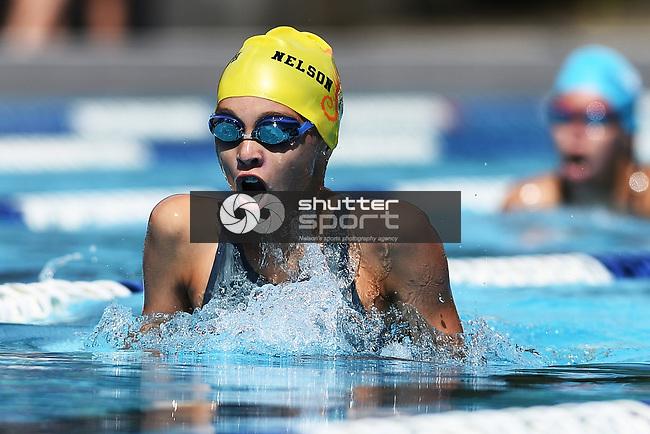NELSON, NEW ZEALAND - JANUARY 30:<br /> Nelson Marlborough Swim Champs. Saturday 30 January 2021. Nayland Pool, Nelson, New Zealand. (Photo by Chris Symes/Shuttersport Limited)