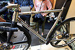 Weld One stand at Bespoked 2018 UK handmade bicycle show held at Brunel's Old Station & Engine Shed, Bristol, England. 21st April 2018.<br /> Picture: Eoin Clarke | Cyclefile<br /> <br /> <br /> All photos usage must carry mandatory copyright credit (© Cyclefile | Eoin Clarke)