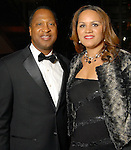 Charles and Carrie Johnson at the UNCF 21at Annual Black Tie Gala at the Hilton Americas Hotel Friday Dec. 04,2009. (Dave Rossman/For the Chronicle)