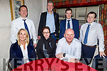 Members of the Kerry Citizen Information enjoying the evening in Cassidys on Thursday.<br /> Seated l to r: Francis Clifford, Evonne Kelly and Michael Slattery.<br /> Back l to r: Paddy Whelahan, Caoilte O'Connor, John Canty and Timothy Keliher.