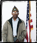 Veteran John Swinney poses for a photo at a Veterans Day Program at the Oxford Conference Center in Oxford, Miss. on Thursday, November 11, 2010.
