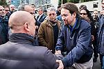 2070314. Navantia workers protest in Madrid.