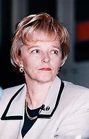 Alexa McDonough, NPD,<br /> mai<br /> 1998<br /> <br /> PHOTO :  Agence Quebec Presse