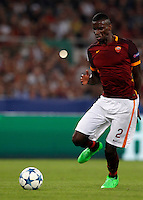 Calcio, Champions League, Gruppo E: Roma vs Barcellona. Roma, stadio Olimpico, 16 settembre 2015.<br /> Roma's Antonio Ruediger during a Champions League, Group E football match between Roma and FC Barcelona, at Rome's Olympic stadium, 16 September 2015.<br /> UPDATE IMAGES PRESS/Riccardo De Luca<br /> <br /> *** ITALY AND GERMANY OUT ***