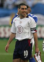 Claudio Reyna, Honduras v USA, 2004.