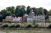 Nederland  Nijmegen - September 2020 .  Waalkade.  Sint-Nicolaaskapel in het Valkhofpark.   Foto : ANP/ Hollandse Hoogte / Berlinda van Dam