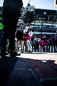#06: Helio Castroneves, Meyer Shank Racing Honda on the bricks