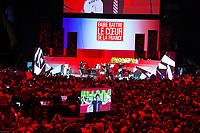 Le Groupe General Electrik au Grand meeting de BenoÓt Hamon ‡ L'Accorhotels Arena Bercy ‡ Paris le 19 mars 2017 . # GRAND MEETING DE BENOIT HAMON A PARIS