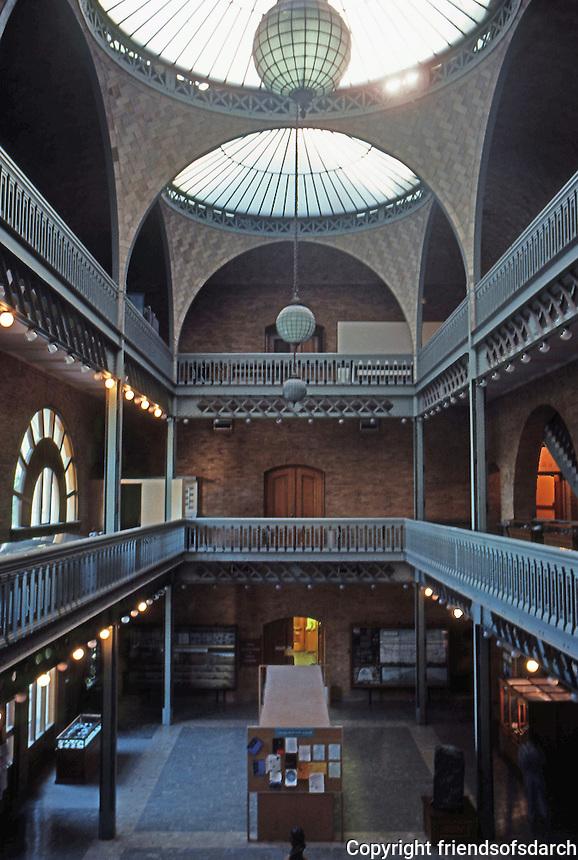 Berkeley CA:  Hearst Mining Building--Interior.  Photo '84.