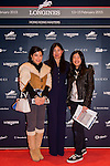 Raena Leung attends the Opening Gala of the Masters during the Longines Hong Kong Masters 2015 at the AsiaWorld Expo on 12 February 2015 in Hong Kong, China. Photo by Li Man Yuen / Power Sport Images