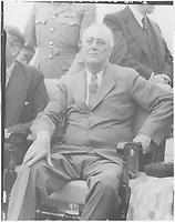Franklin D. Roosevelt in Quebec, Canada