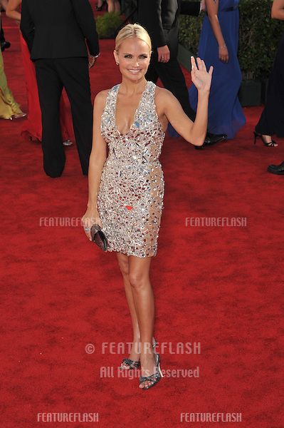 Kristin Chenoweth at the 61st Primetime Emmy Awards at the Nokia Theatre L.A. Live..September 20, 2009  Los Angeles, CA.Picture: Paul Smith / Featureflash