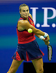 September  9, 2021:   Aryna Sabalenka (BLR) loses to Leylah Fernandez (CAN),{ford} at the US Open being played at Billy Jean King National Tennis Center in Flushing, Queens, New York, {USA} ©Jo Becktold/Tennisclix/CSM