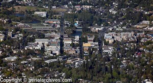 aerial photograph of the City of Napa, Napa County, California