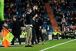 Real Sociedad's coach Asier Garitano during La Liga match between Real Madrid and Real Sociedad at Santiago Bernabeu Stadium in Madrid, Spain. January 06, 2019. (ALTERPHOTOS/A. Perez Meca)<br />  (ALTERPHOTOS/A. Perez Meca)