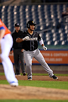 Charlotte Knights Daniel Gonzalez (29) leads off during an International League game against the Syracuse Mets on June 11, 2019 at NBT Bank Stadium in Syracuse, New York.  Syracuse defeated Charlotte 15-8.  (Mike Janes/Four Seam Images)