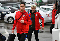 Columbus, Ohio - Thursday March 01, 2018: Ashlyn Harris during a 2018 SheBelieves Cup match between the women's national teams of the United States (USA) and Germany (GER) at MAPFRE Stadium.