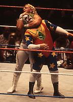 Jeff Jarrett  & Doink the Clown 1994<br /> Photo By John Barrett/PHOTOlink