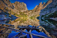 Emerald Lake in Bear Lake area of Rocky Mountain National Park, Colorado