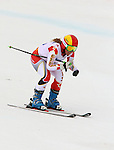 Sochi,Russia.16/03/2014- Canadian Alexandra Starker competes in women's giant slalom standing event at the 2014 Sochi paralympic winter games in Sochi, Russia. (Photo:Scott Grant/Canadian Paralympic Committee)