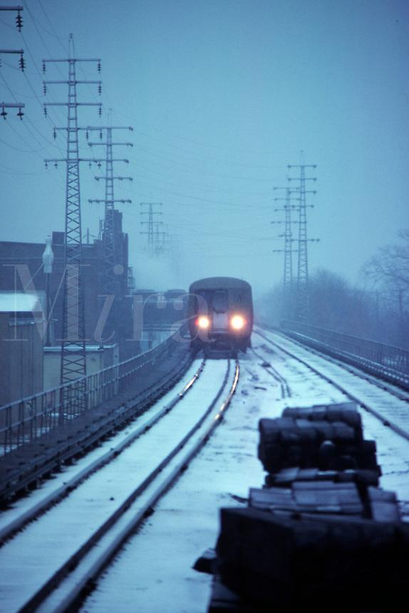 Cold commute