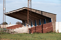 General view of Cheshunt FC Football Ground, The Stadium, Theobalds Lane, Cheshunt, Hertfordshire, pictured on 13th April 1997