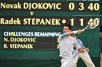 29-06-12, England, London, Tennis , Wimbledon, Novak Djokovic